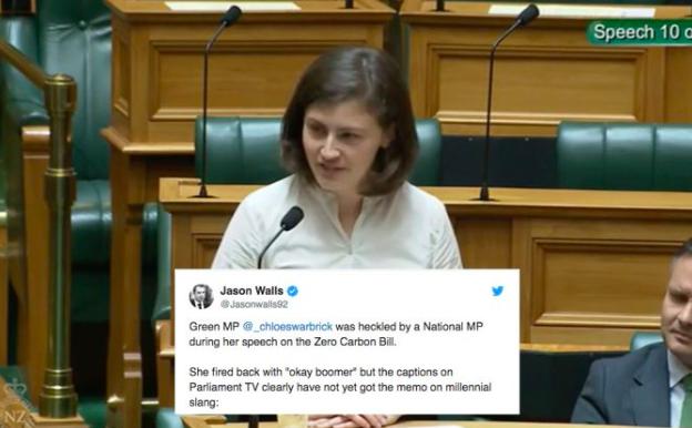 "New Zealand Politician Drop A Casual ""OK Boomer"""
