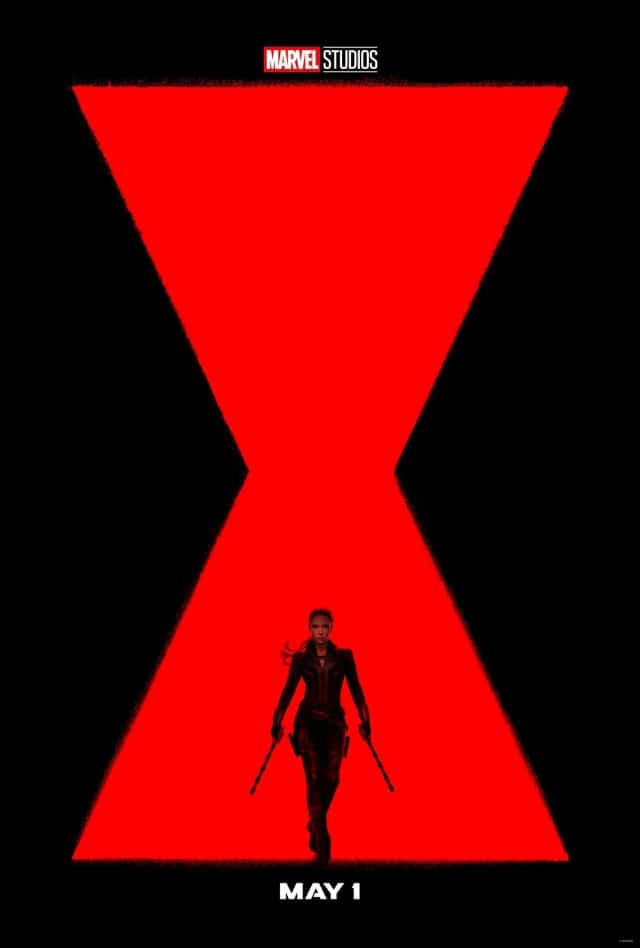 black widow movie poster by marvel studios