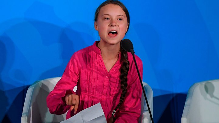 Greta Climate Speech