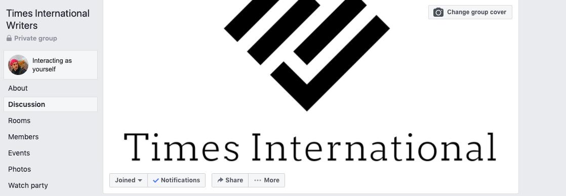 Times international writers